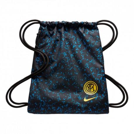 Nike Zaino A Sacca Inter Stadium Fa20 Blu Nero Yellow Uomo