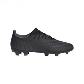 ADIDAS scarpe da calcio x ghosted .3 fg nero uomo
