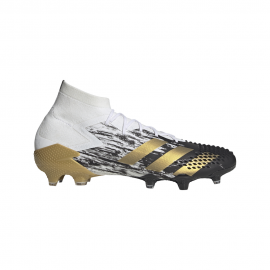 ADIDAS scarpe da calcio predator mutator 20.1 fg bianco oro uomo