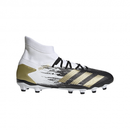 ADIDAS scarpe da calcio predator 20.3 mg bianco oro uomo