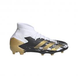 ADIDAS scarpe da calcio predator mutator 20.1 fg bianco oro bambino