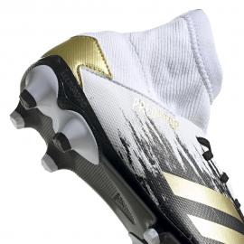 ADIDAS scarpe da calcio predator 20.3 mg bianco oro bambino
