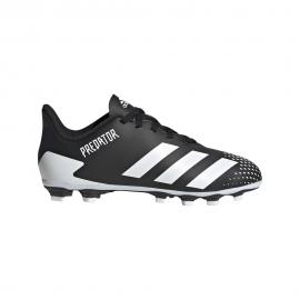 ADIDAS scarpe da calcio predator 20.4 fxg bianco oro bambino
