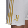 ADIDAS pantaloncini calcio juve home 20 21 bianco uomo