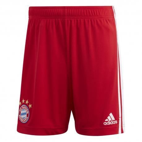ADIDAS pantaloncini calcio bayern home 20 21 rosso uomo