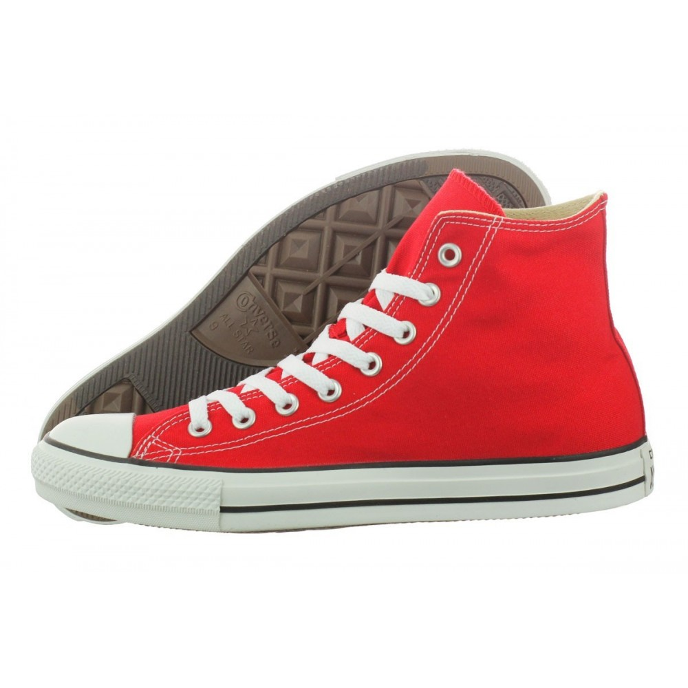2converse rosse donna 39