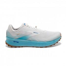 Brooks Scarpe Trail Running Catamount Bianco Blu Uomo