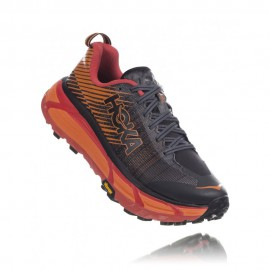 Hoka Scarpe Trail Running Evo Mafate 2 Nero Rosso Donna