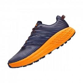 Hoka Scarpe Trail Running Speedgoat 4 Nero Iris Uomo