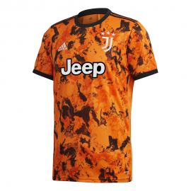 ADIDAS maglia calcio juve 3° 20/21 arancio nero uomo