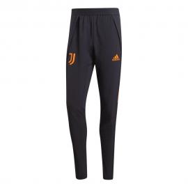ADIDAS pantaloni allenamento calcio juve champion 20/21 nero arancio uomo