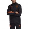 ADIDAS giubbotto juve champion 20/21 nero arancio uomo