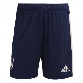ADIDAS pantaloncini calcio juve away 20/21 blu bianco uomo
