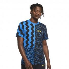 Nike Maglia Calcio Inter Ignite Nero Blu Uomo