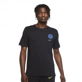Nike Maglia Calcio Inter Voice Nero Blu Uomo