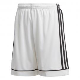 ADIDAS pantaloncini calcio squadra 17 team bianco nero bambino