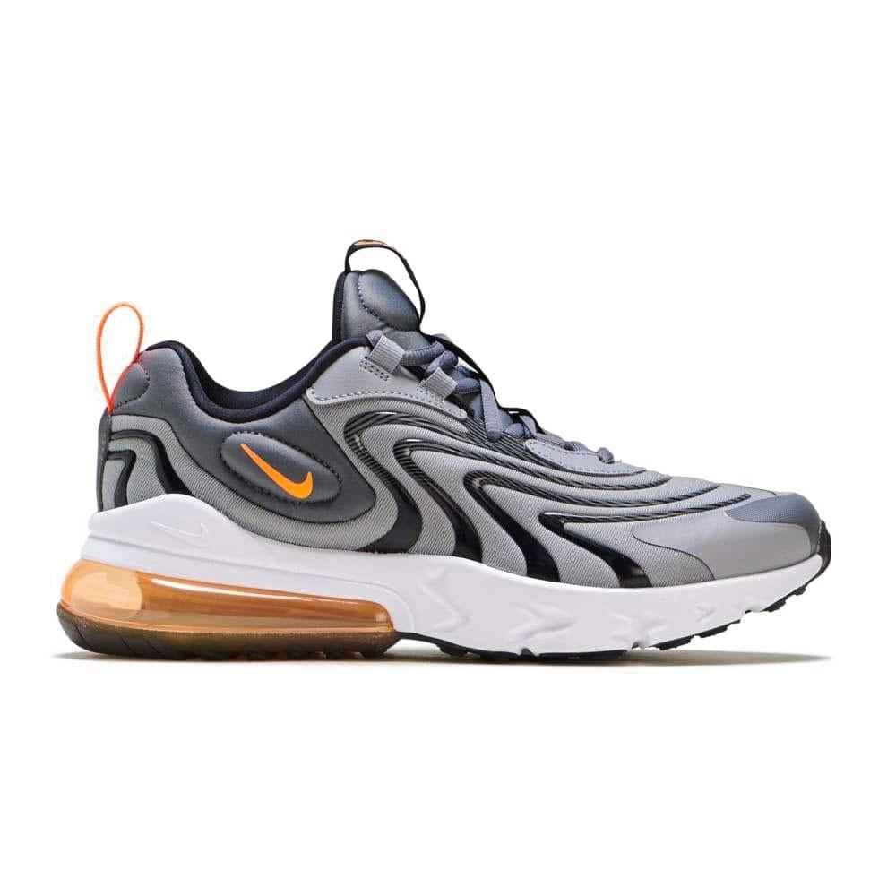 Nike Sneakers Air Max 270 React Eng Gs Grigio Arancio Bambino ...