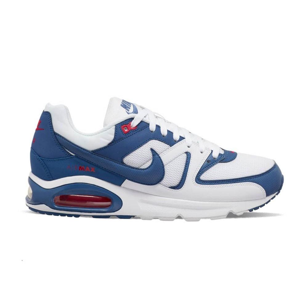 Nike Sneakers Air Max Command Bianco Blu Uomo - Acquista online su ...
