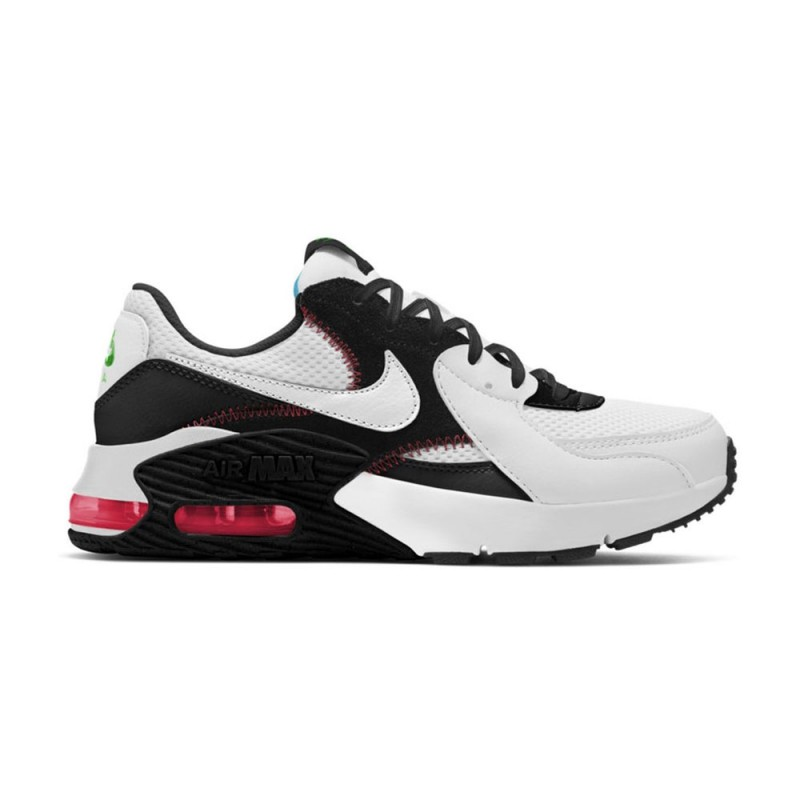 Nike Sneakers Air Max Excee Bianco Flash Crimson Donna