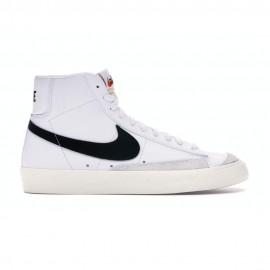 Nike Sneakers Blazer Mid 77 Vintage Bianco Nero Uomo