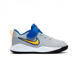 Nike Sneakers Team Hustle Quick 2 Ps Grigio Giallo Bambino