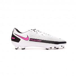 Nike Scarpe Calcio Phantom Gt Academt Fg Mg Nero Rosa Argento Uomo