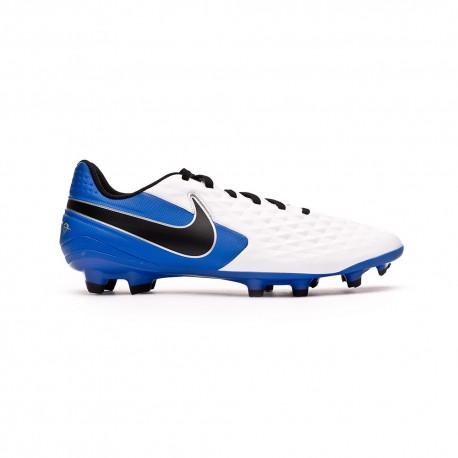 Nike Scarpe Calcio Legend 8 Club Fg Mg Bianco Blu Nero Bambino