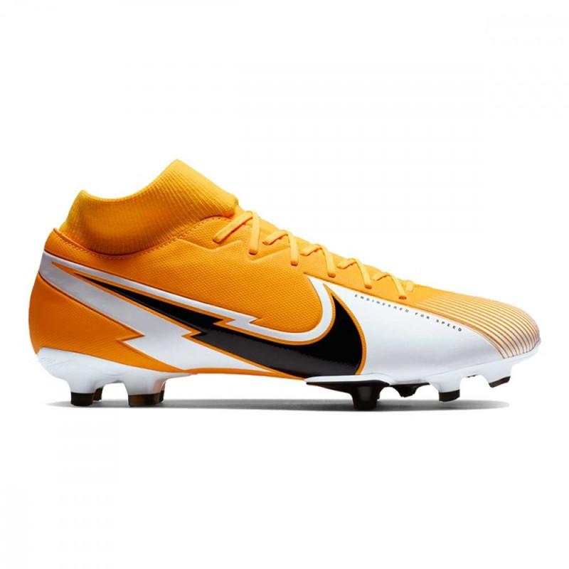 Nike Scarpe Calcio Superfly 7 Academy Fg Mg Giallo Nero Bambino