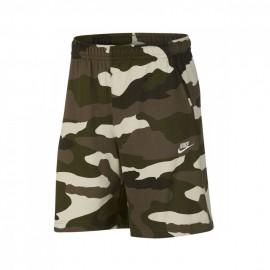 Nike Shorts Camouflage Verde Uomo