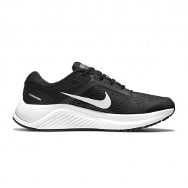 Nike Scarpe Running Air Zoom Structure 23 Nero Bianco Donna