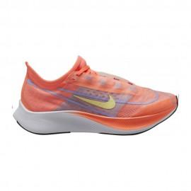 Nike Scarpe Running Zoom Fly 3 Bright Mango Lt Zitron Donna