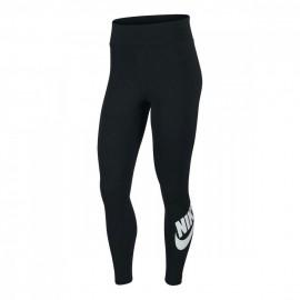 Nike Leggings Logo In Basso Nero Donna