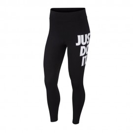 Nike Leggings Just Do It Nero Donna