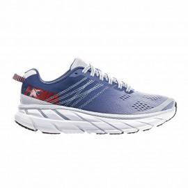 Hoka Scarpe Running Clifton 6 Bianco Blu Donna