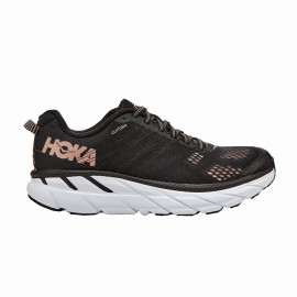 Hoka Scarpe Running Clifton 6 Nero Rosa Donna
