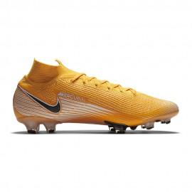 Nike Scarpe Calcio Superlfy 7 Elite Fg Giallo Bianco Nero Uomo