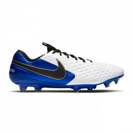 Nike Scarpe Da Calcio Legend 8 Elite Fg Bianco Blu Nero Uomo