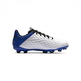 Nike Scarpe Calcio Legend 8 Academy Fg Mg Bianco Blu Nero Bambino
