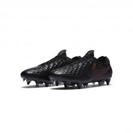 Nike Scarpe Da Calcio Legend 8 Elite Sg-Pro Ac Nero Rosso Uomo