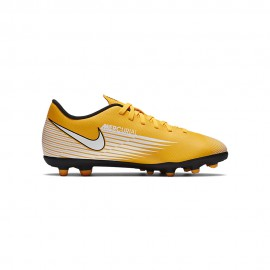 Nike Scarpe Calcio Vapor 13 Club Fg Mg Giallo Bianco Nero Bambino