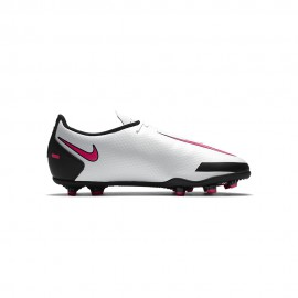 Nike Scarpe Calcio Phantom Gt Club Fg Mg Nero Rosa Argento Bambino