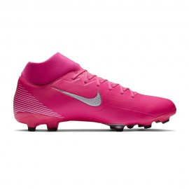 Nike Scarpe Da Calcio Superfly 7 Academy Fg Mg Rosa Bianco Uomo