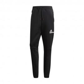 ADIDAS pantalone con polsino zone nero uomo