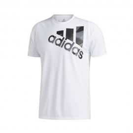 ADIDAS maglietta palestra olympic bos bianco uomo
