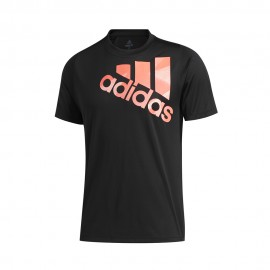 ADIDAS maglietta palestra olympic bos nero uomo