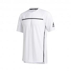 ADIDAS maglietta palestra primeblu bianco uomo