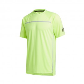 ADIDAS maglietta palestra primeblu verde uomo