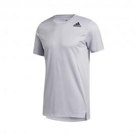 ADIDAS maglietta palestra the heat ready grigio uomo
