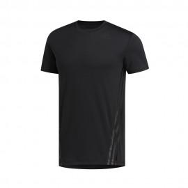 ADIDAS maglietta palestra nero uomo