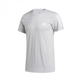 ADIDAS maglietta palestra aeroready grigio uomo